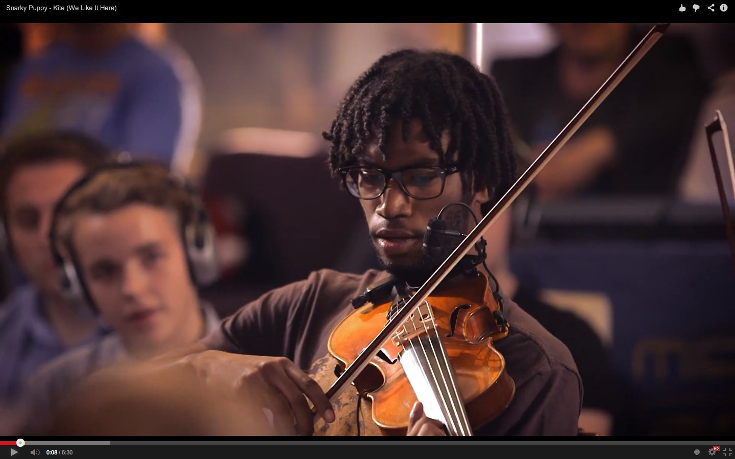 Screenshot to Snarky Puppy - Kite